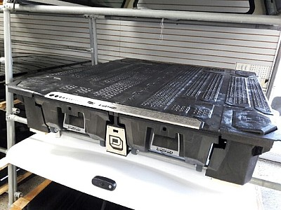 DECKED TRUCK BED STORAGE SYSTEMS