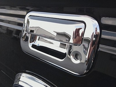 Ford F150 Chrome Tailgate Handle Overlays