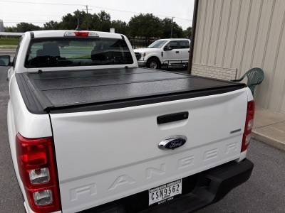 New body style Ford Ranger Undercover Flex tri fold tonneau cover