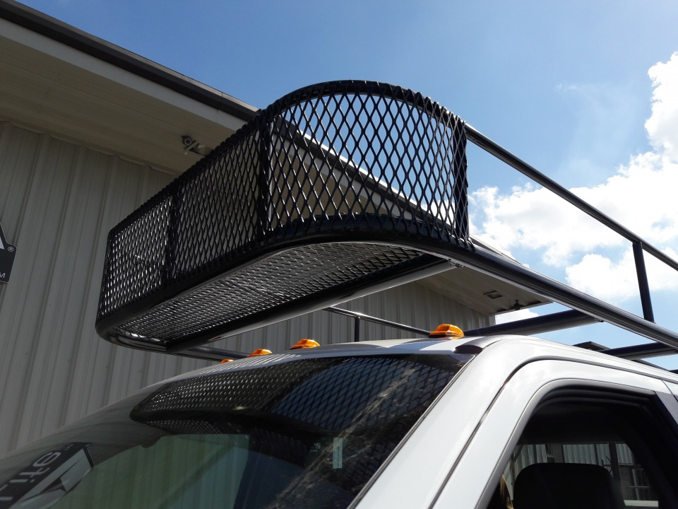 Utility bed ladder racks by Rack it of Florida