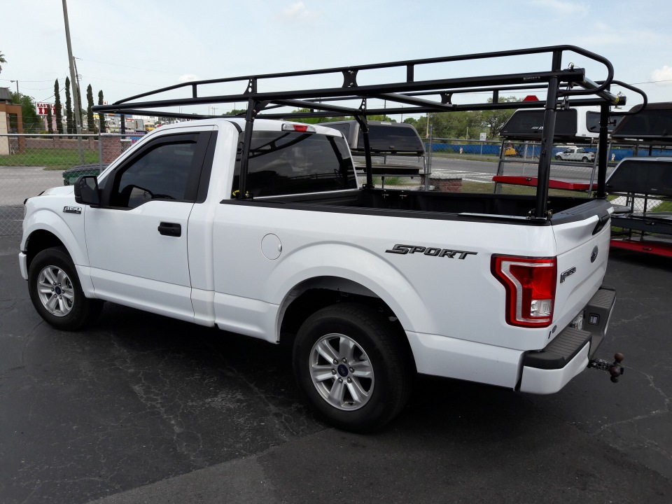 Kargomaster Heavy Duty truck ladder rack system