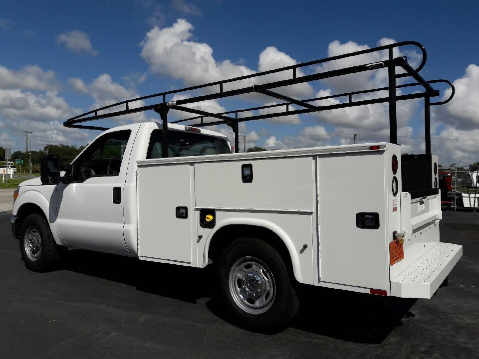 Utility bed truck ladder rack systems by Rack it of Florida