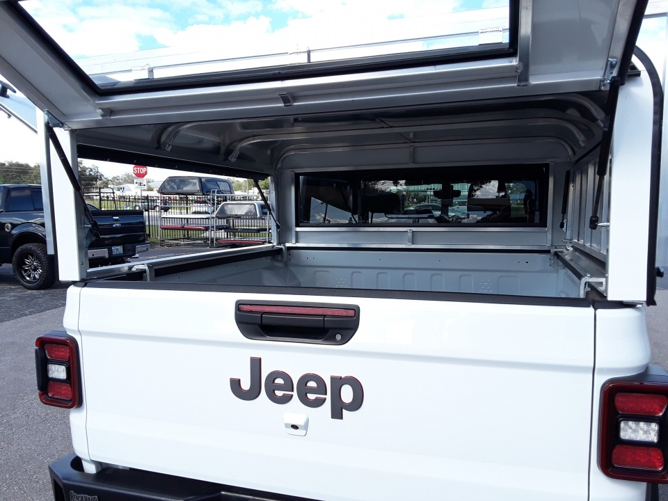 JEEP GLADIATOR Light Duty Aluminium construction work truck toppers