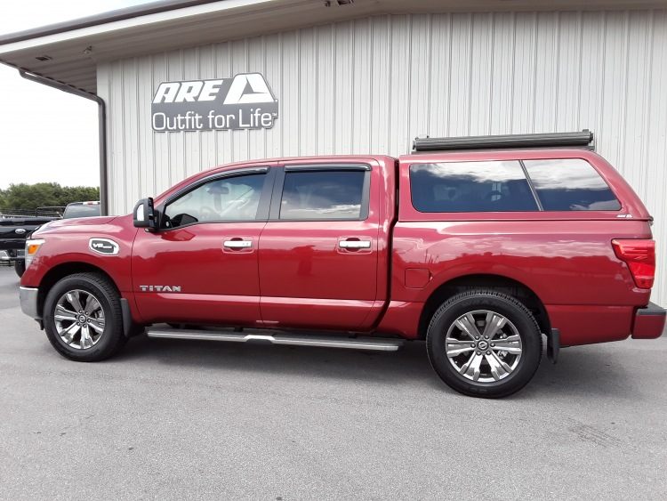 Nissan Titan ARE Z SERIES TRUCK CAP   New   Toppers   Emery s Topper Sales  Inc. 5ded47995e3b