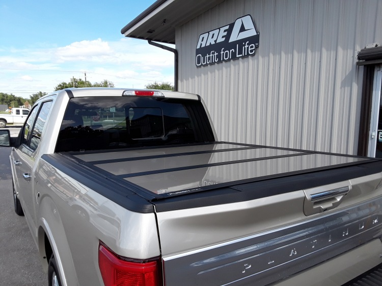 ARE FUSION TRI FOLD TONNEAU COVER