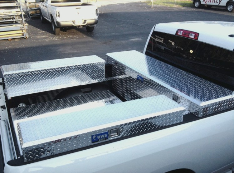 Tool box side box combo package