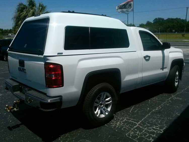 2014 Chevrolet GMC silverado sierra ARE MX series truck topper