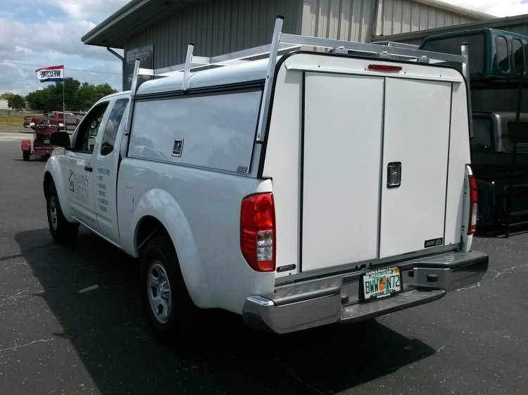Nissan Frontier ARE DCU Work Truck Topper