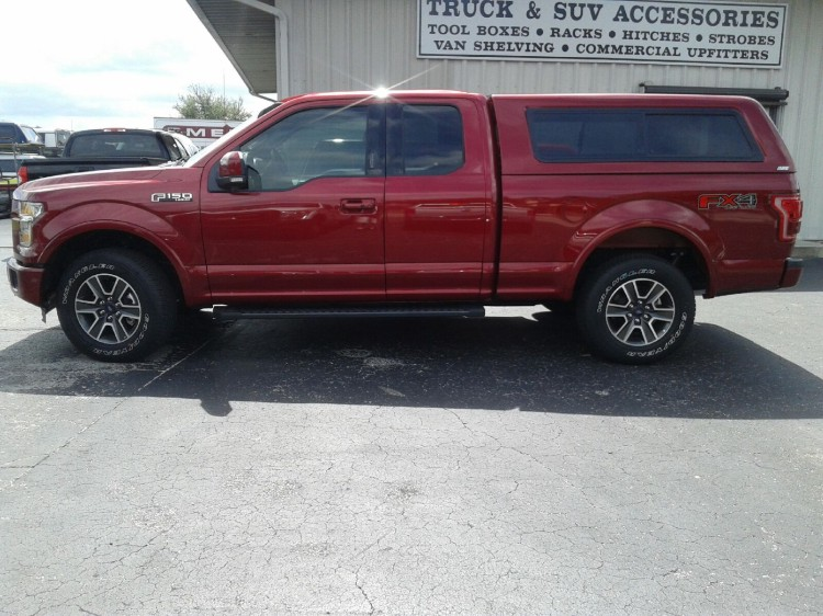 2015 FORD F150 ARE CX SERIES TRUCK TOPPER