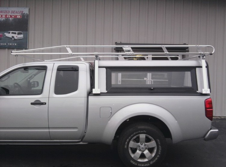 Hauler truck ladder racks camper ladder racks