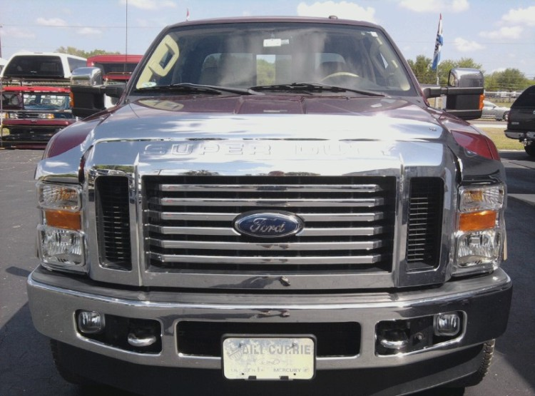 Ford Superduty EGR Chrome Bugshield