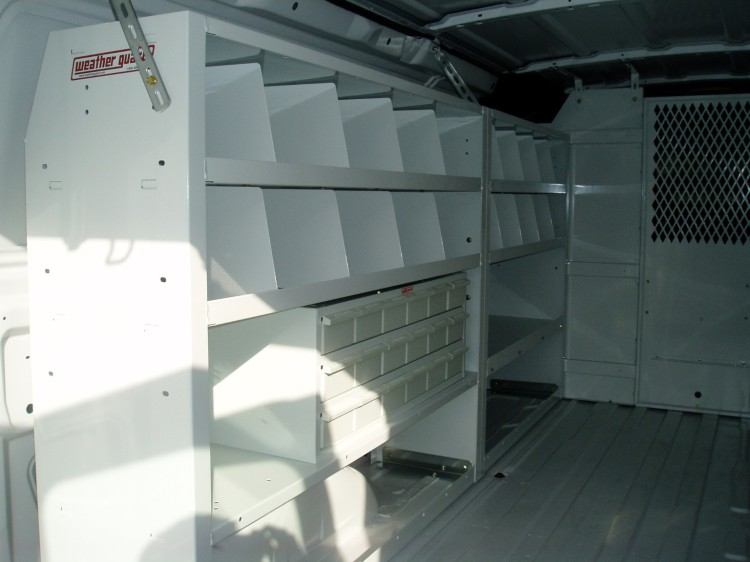 Van Interior Shelving Kits