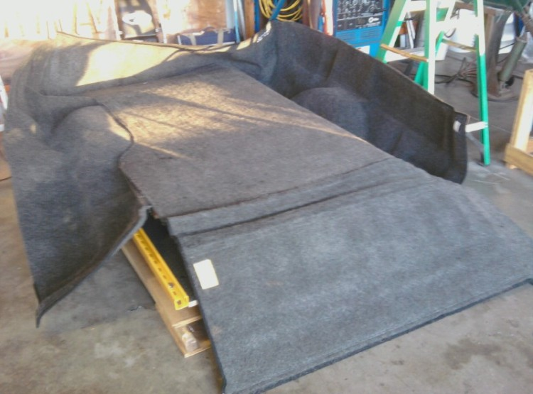 2004-2009 F150 Stepside Flareside USED Bedrug carpet bedliner