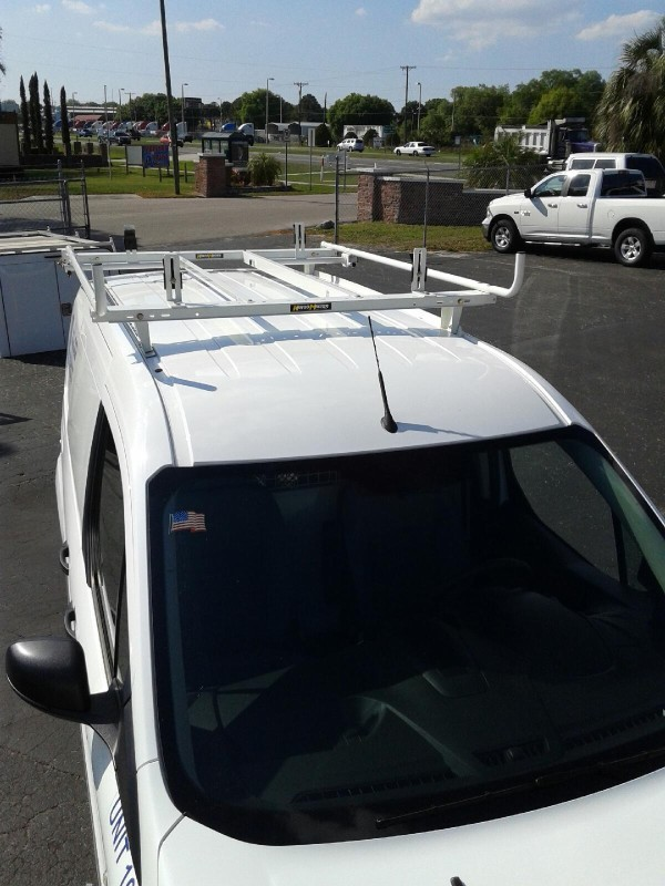FORD TRANSIT CONNECT DOUBLE LOCK DOWN LADDER RACK SYSTEM