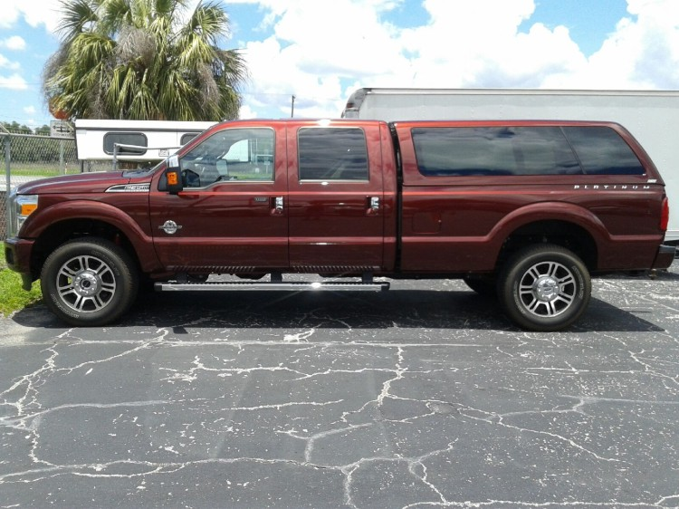2015 FORD F250 F350 SUPERDUTY ARE Z SERIES TRUCK TOPPER