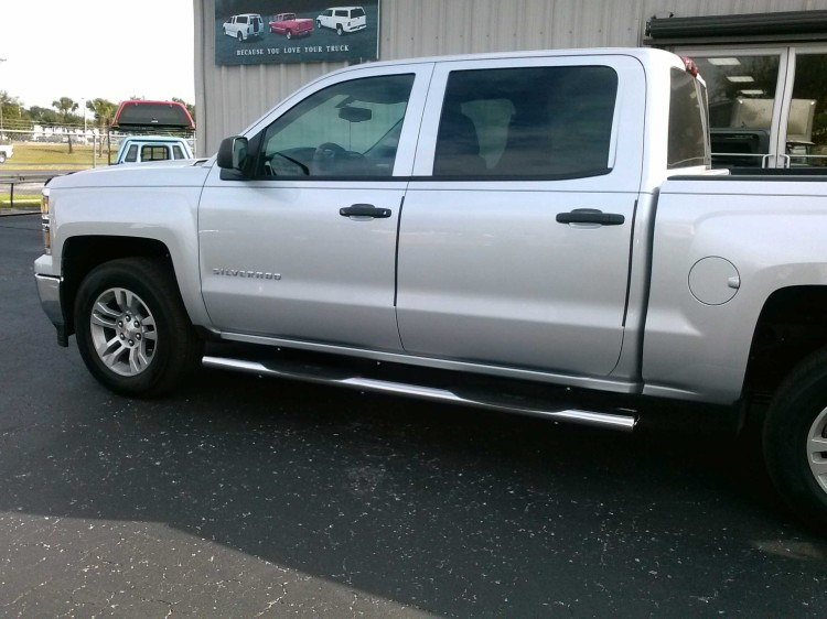2014 Chevrolet GMC oval nerf bars running boards