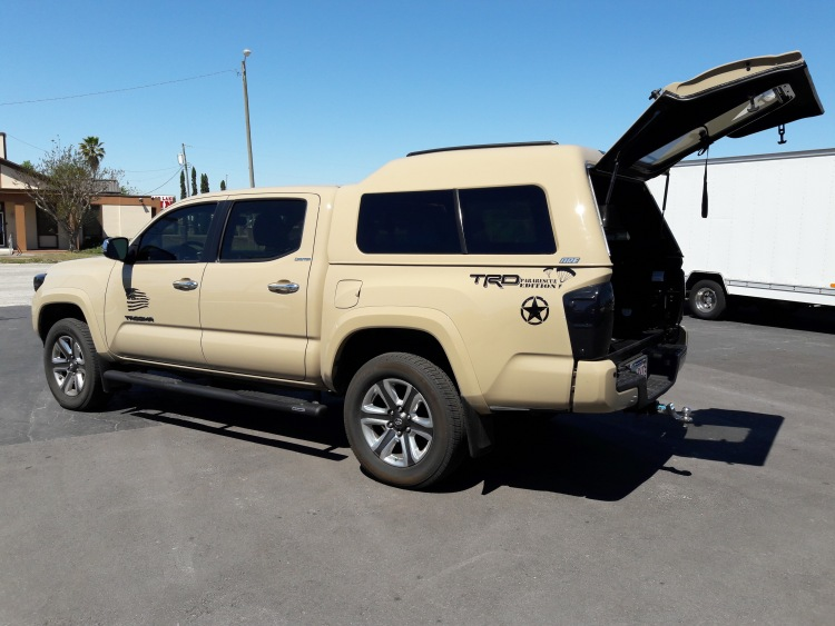 Toyota Tacoma Topper For Sale >> Are Mx Walk In Door Series Truck Cap Topper Toyota Tacoma New