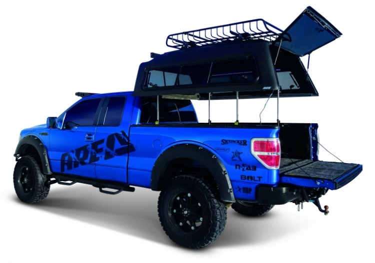 ARE OVERLAND TRUCK CAP WITH TOPPER EZ LIFT SYSTEM