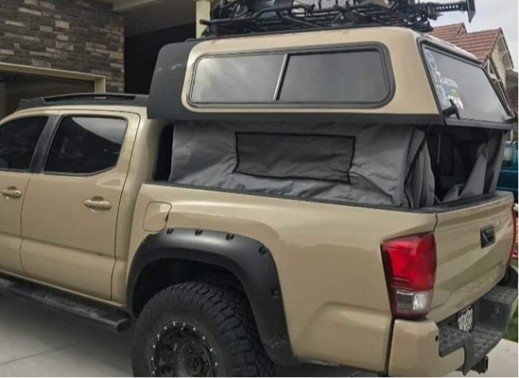 Toyota Tacoma Are Overland Series Truck Cap New Toppers Emery S Topper Sales Inc