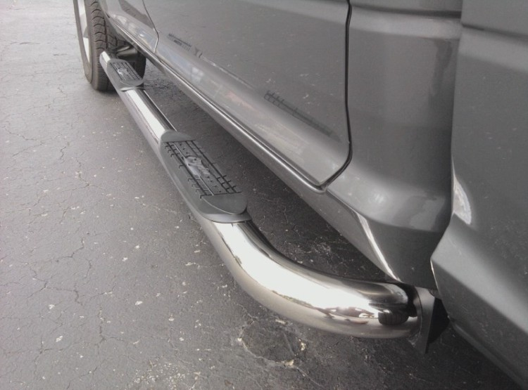 Stainless steel nerf bars CARRY OUT ONLY SPECIAL !!!!!!