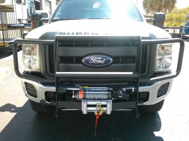 Mile Marker Winch Systems