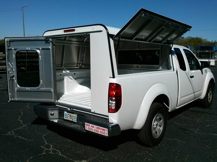Nissan Frontier ARE DCU Work Truck Topper : New : Toppers : Emery's ...