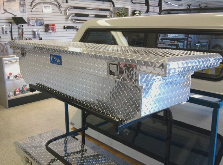 UWS Diamond Plated Tool Boxes