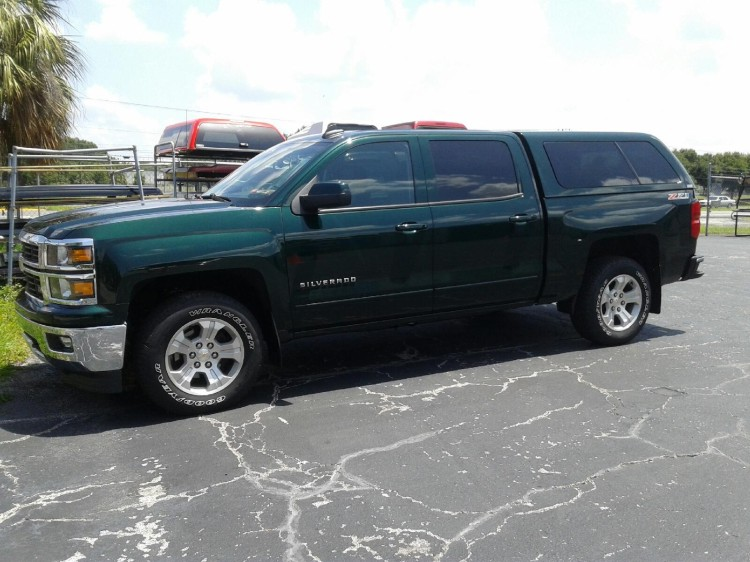 2015 CHEVROLET GMC ARE Z SERIES TRUCK TOPPER