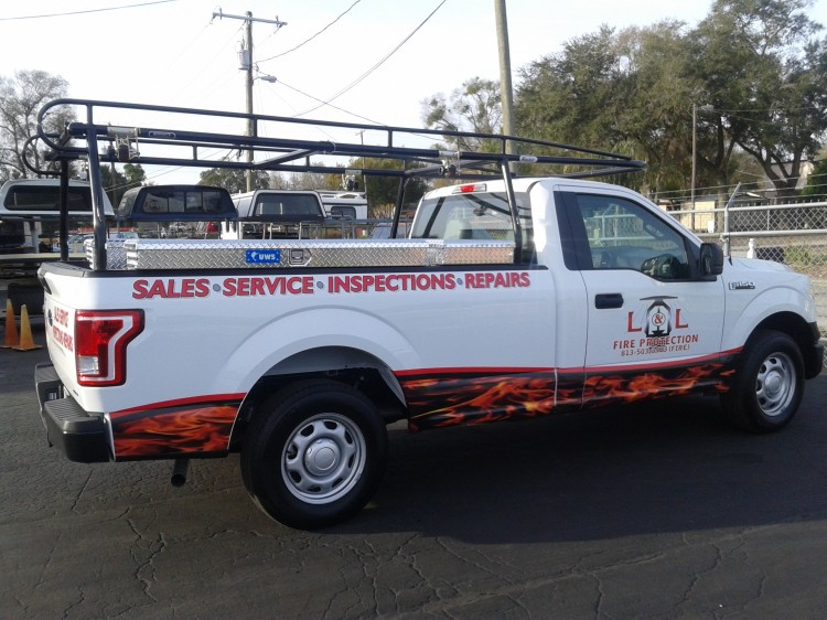 FORD F150 RACK - IT TRUCK LADDER RACKS OF FLORIDA