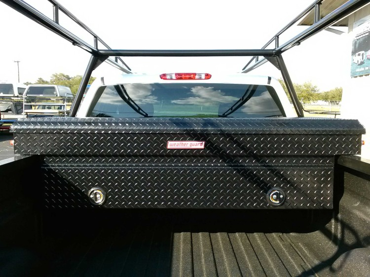 Black Extra Wide Weatherguard Truck Tool Boxes
