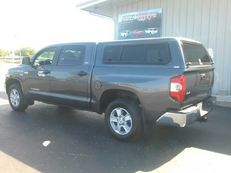 2014 Toyota Tundra NEW BODY STYLE A.R.E. truck toppers  New  Toppers  Emeryu0027s Topper Sales Inc. & 2014 Toyota Tundra NEW BODY STYLE A.R.E. truck toppers : New ...