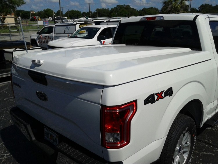 2015 F150 5.5ft NEW BODY STYLE ARE LS2 fiberglass tonneau covers