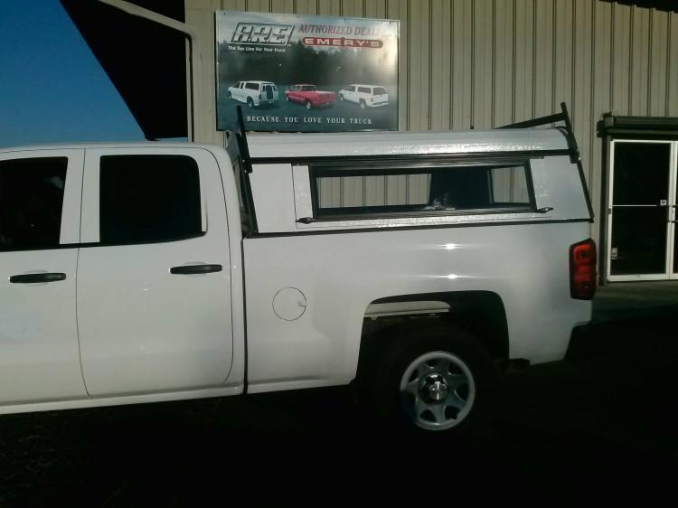 2014 Chevrolet GMC 3 door Aluminum Work Truck Topper : New : Toppers : Emery's Topper Sales Inc.
