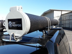 New truck accessories emery s topper sales inc for Fishing rod roof rack tube