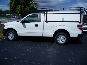 RACK IT OF FLORIDA LADDER RACK ARE DCU WORK TRUCK TOPPER COMBO
