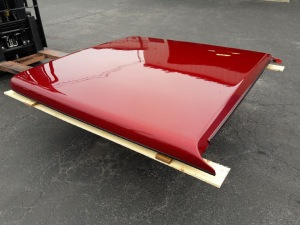 2009-2014 FORD F150 5.5FT USED FIBERGLASS TONNEAU COVER