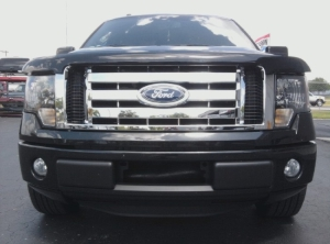 2009-2014 F150 XL & XLT Chrome Grill Overlays