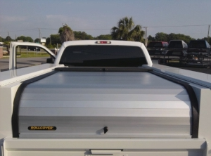 Rolling Tonneau Cover >> ROLL COVER Utility Bed Aluminum Rolling Locking Covers : New : Tonneau Covers : Emery's Topper ...