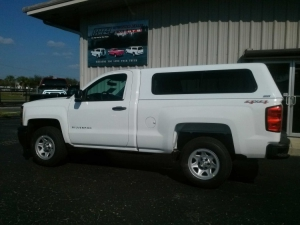 2014 GMC Chevrolet ARE V series truck topper