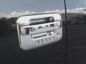 Ford F150 Chrome Door Handle Overlays