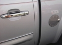 Chrome door handle covers  -  Cat No:   -  Click To Order  -  ID: 173