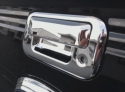Ford F150 Chrome Tailgate Handle Overlays  -  Cat No:   -  Click To Order  -  ID: 309