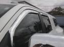 Chrome door vent visor ventshades  -  Cat No:   -  Click To Order  -  ID: 256
