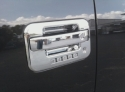 Ford F150 Chrome Door Handle Overlays  -  Cat No:   -  Click To Order  -  ID: 308